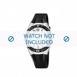 Calypso cinturino dell'orologio K6064-2 Gomma / plastica Nero