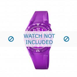 Calypso cinturino dell'orologio K6064-4 Gomma / plastica Viola