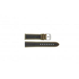 Cinturino per orologio Camel 5320-5329 / 5390-5399 Pelle Marrone 22mm