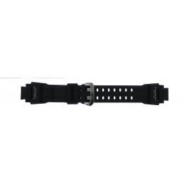 Casio cinturino orologio GA-1000-1AV Silicone Nero 22mm