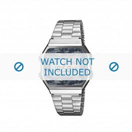 Cinturino per orologio Casio A168WEC-1EF / 70641447 Acciaio 18mm