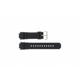 Cinturino per orologio Casio AW-590-1A / AWG-100 / AWG-101 / AWG-591 Gomma Nero 16mm