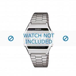 Cinturino per orologio Casio B640WB-1BEF / B640WB-1B / 10339806 Acciaio 18mm