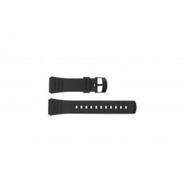 Cinturino per orologio Casio DBC-32C-1BW Plastica Nero 22mm