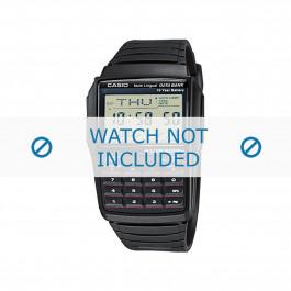 Cinturino per orologio Casio DBC-321-AES / DBC-32-1A / 10169264 Plastica Nero 22mm