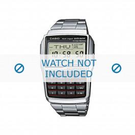 Casio cinturino orologio DBC-32D-1AES / DBC-32D-1A  Acciaio Argento 19mm