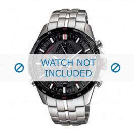 Cinturino per orologio Casio EQS-A500DB-1AVER / 10427996 Acciaio 22mm
