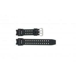 Cinturino per orologio Casio G-9200-1 / GW-9200 / 10297191 Plastica Nero 16mm