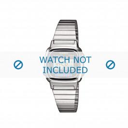 Casio cinturino orologio LA670WEA-1EF / LA670WEA-1 Acciaio Argento 13mm