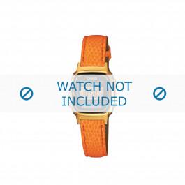 Cinturino per orologio LA670WEGL-4A2EF / LA670WEGL-4A2 / 10487172 Pelle Arancione 14mm