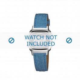 Cinturino per orologio Casio LA670WEL-2A2EF / LA670WEL-2A2 Pelle Blu 13mm