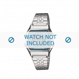 Casio cinturino orologio  LA680WEA-2BEF / LA680WEA-2B  Acciaio Argento 14mm