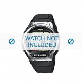 Cinturino per orologio 10243173 Gomma Nero 18mm