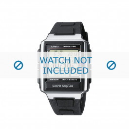 Cinturino per orologio Casio WV-59E-1AVEF / WV-59E-1A Plastica Nero 20mm