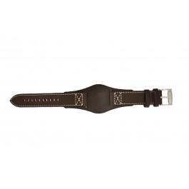 Cinturino per orologio Fossil CH2599 Pelle Marrone 22mm