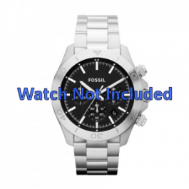 Cinturino per orologio Fossil CH2848 / CH2849 Acciaio Acciaio 22mm