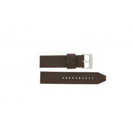 Cinturino per orologio Fossil CH2835 / CH2892 Pelle Marrone 22mm
