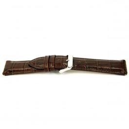 Cinturino per orologio Universale I035-XL Pelle Marrone 24mm