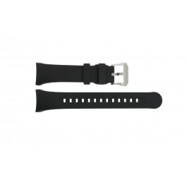 Cinturino per orologio Citizen 59-T50859 Gomma Nero 27mm