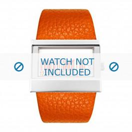 Cinturino per orologio Dolce & Gabbana 3719240404 Pelle Arancione 35mm