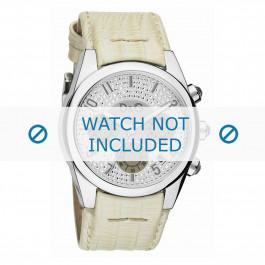 Dolce & Gabbana cinturino dell'orologio DW0258 Pelle Bianco crema / Beige