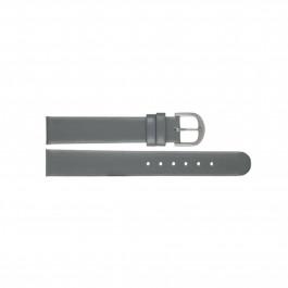 Cinturino per orologio Danish Design ADDGR15 Pelle Grigio 15mm