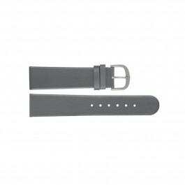 Cinturino per orologio Danish Design ADDGR20 Pelle Grigio 20mm