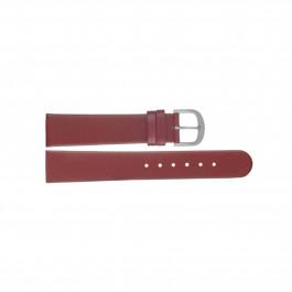 Cinturino per orologio Danish Design ADDRD18 Pelle Rosso 18mm