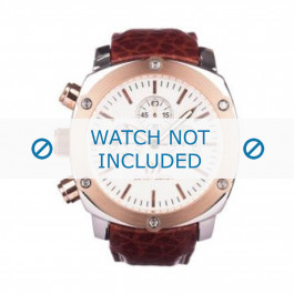 Danish Design cinturino dell'orologio IQ17Q852 Pelle Marrone 24mm + cuciture marrone