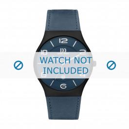 Cinturino per orologio Danish Design IQ22Q1106 Pelle Blu 24mm