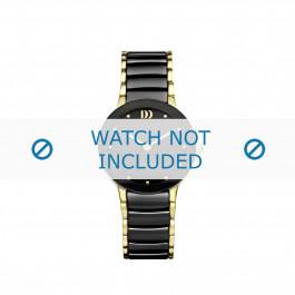 Danish Design cinturino dell'orologio IV05Q1065 Ceramica Nero 16mm