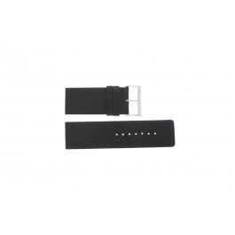 Cinturino per orologio Davis BB0330 Pelle Nero 30mm