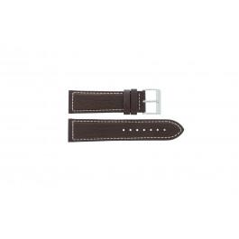 Cinturino per orologio Davis BB0453 Pelle Marrone 24mm