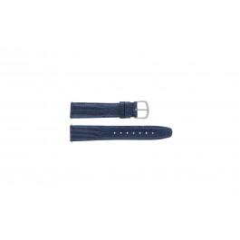 Cinturino per orologio Davis B0084 Pelle Blu 12mm