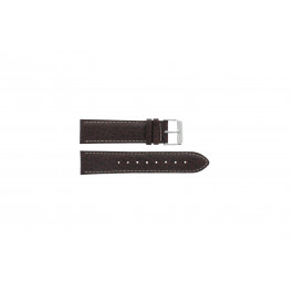 Cinturino per orologio Davis B0241 Pelle Marrone 22mm