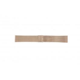 Cinturino per orologio Davis B0813 Acciaio Salito 22mm