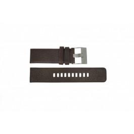 Cinturino per orologio Diesel DZ1467 / Screw+Springbar Pelle Marrone 24mm