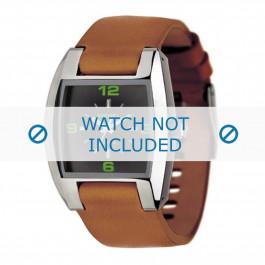 Cinturino per orologio Diesel DZ1049 Pelle Cognac 18mm