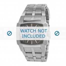 Diesel cinturino dell'orologio DZ1155 Acciaio inossidabile Argento 24mm