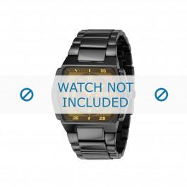 Diesel cinturino dell'orologio DZ1166 Acciaio inossidabile Nero 17mm