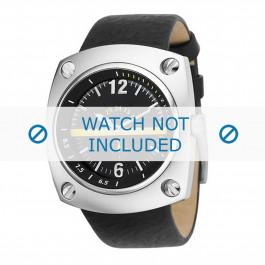 Diesel cinturino dell'orologio DZ1199 Pelle Nero 30mm