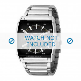 Diesel cinturino dell'orologio DZ1252  Acciaio inossidabile Argento 34mm