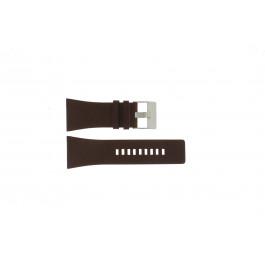 Diesel cinturino dell'orologio DZ1254 Pelle Marrone 34mm