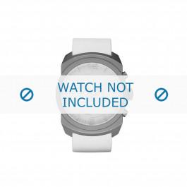 Diesel cinturino dell'orologio DZ1450 Silicone Bianco 26mm