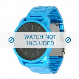 Diesel cinturino dell'orologio DZ1468 Alluminio Blu 24mm