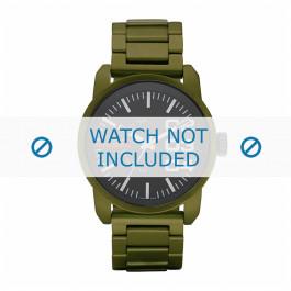 Diesel cinturino dell'orologio DZ1469 Alluminio Verde 24mm