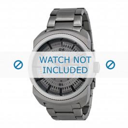 Diesel cinturino dell'orologio DZ1472 Acciaio inossidabile Grigio 26mm