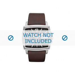 Diesel cinturino dell'orologio DZ1496 Pelle Marrone 24mm