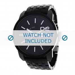 Cinturino per orologio Diesel DZ1523 Plastica Nero 24mm