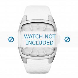 Diesel cinturino dell'orologio DZ1531 Pelle Bianco 22mm